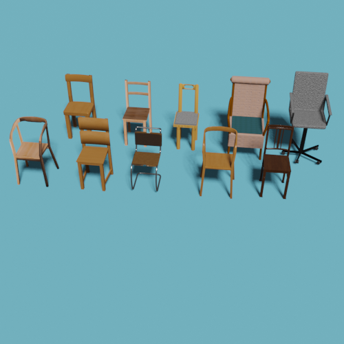 Some simple chairs preview image