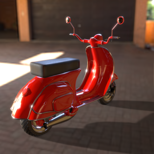 Scooter Textured preview image
