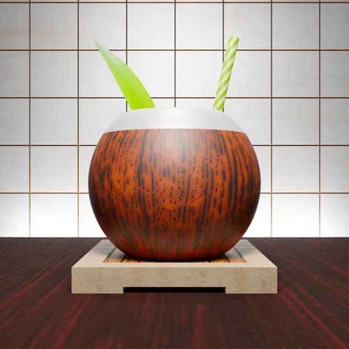 Coconut Tiki Mug preview image