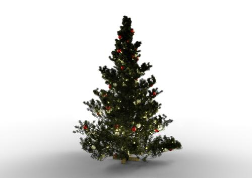 Realistic Christmas Tree preview image