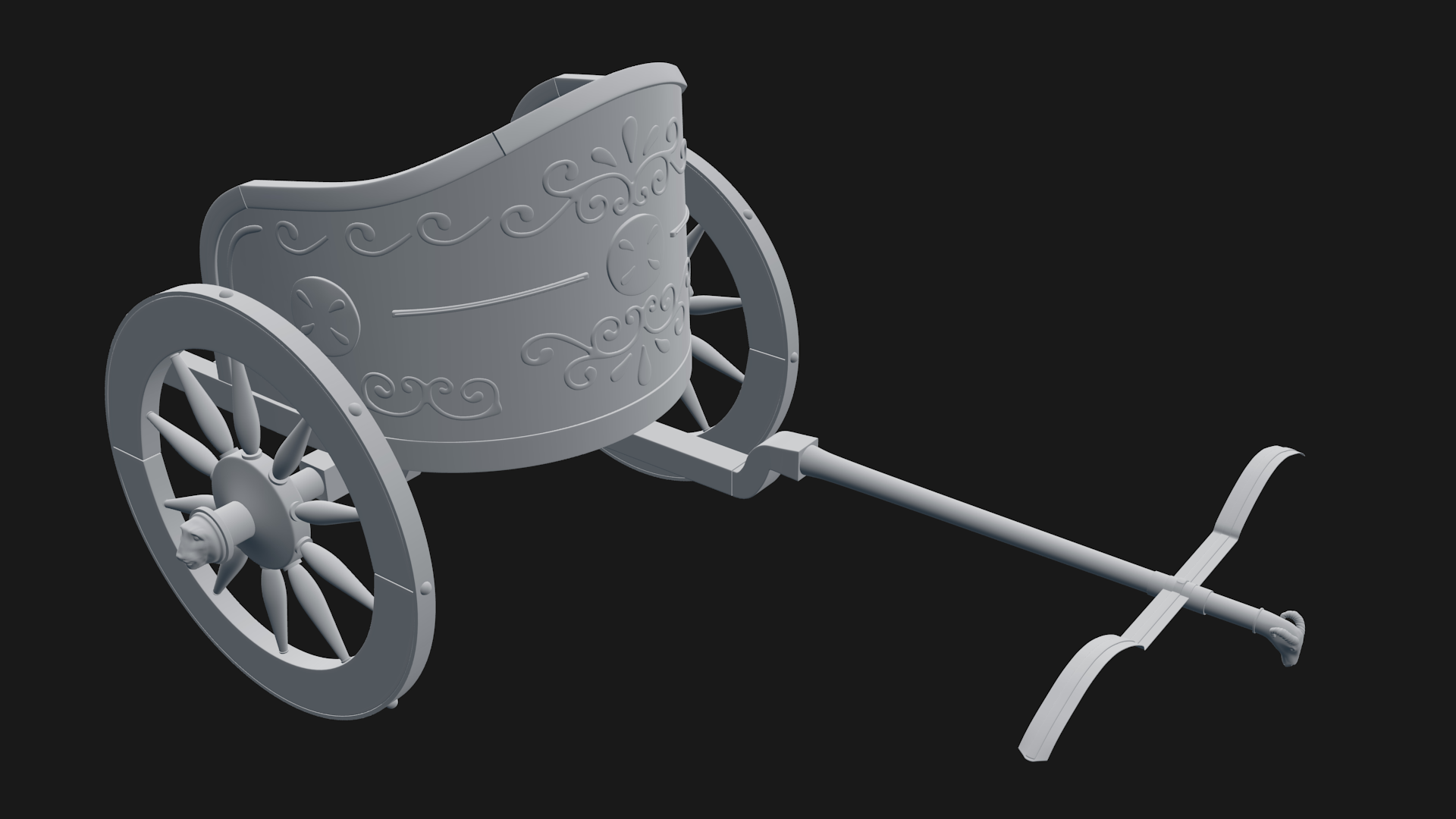 Roman chariot preview image 1