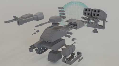 Modular Vehicle [Tank] preview image