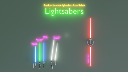 Lightsabers (Star Wars Rebels) preview image