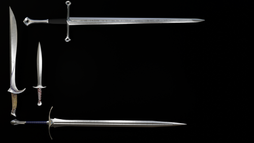 LOTR Swords preview image