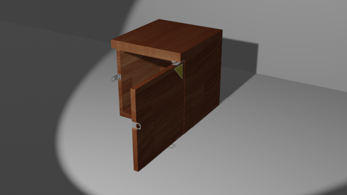 Korean school style Cabinet preview image