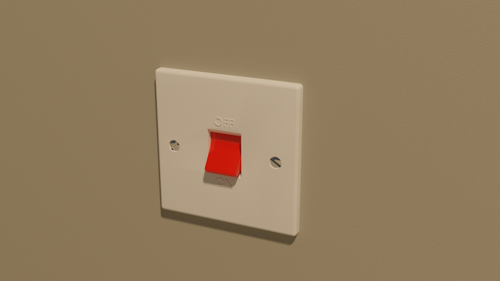 UK 50A Cooker Isolation Switch preview image