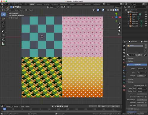 Procedural Texture: Japanese Cloth Patterns preview image