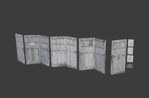 Old Grey Doors preview image