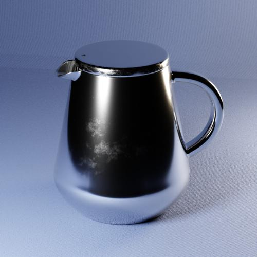 Teapot - stainless steel preview image