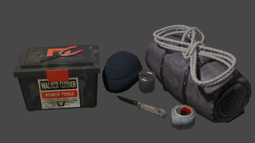 SURVIVAL KIT (LOW-POLY)  preview image