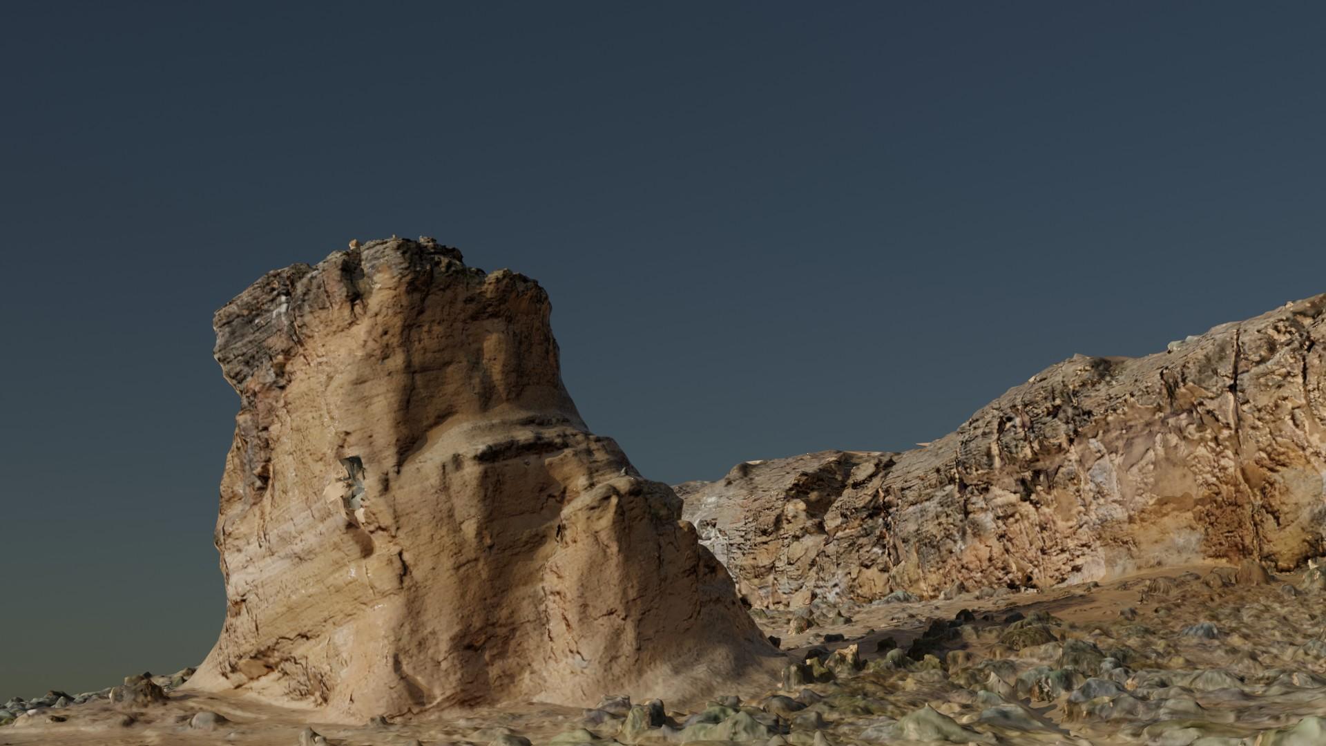 Fort Rock Landscape preview image 1