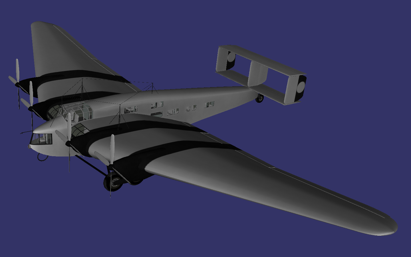 Junkers G 38 preview image 1