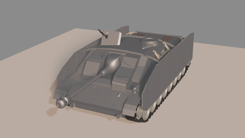Stug IV - WW2 tank destroyer (updated) preview image