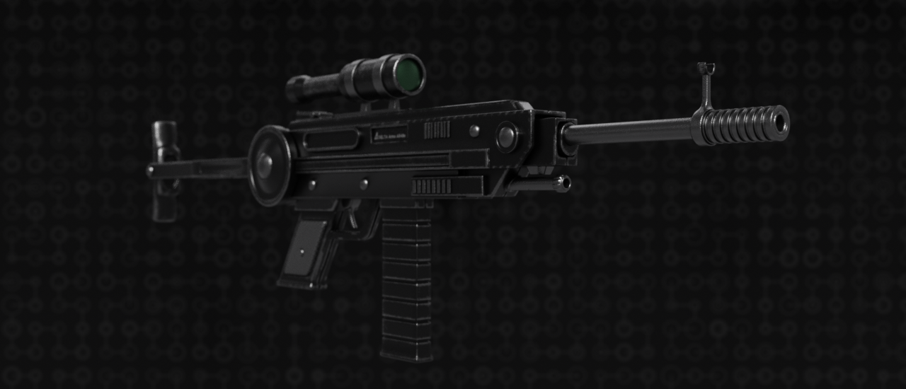 Automatic Rifle  AR48s (generic) preview image 3