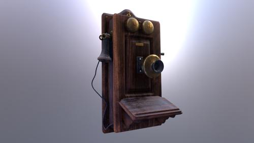 Stewarts Antique Telephone preview image