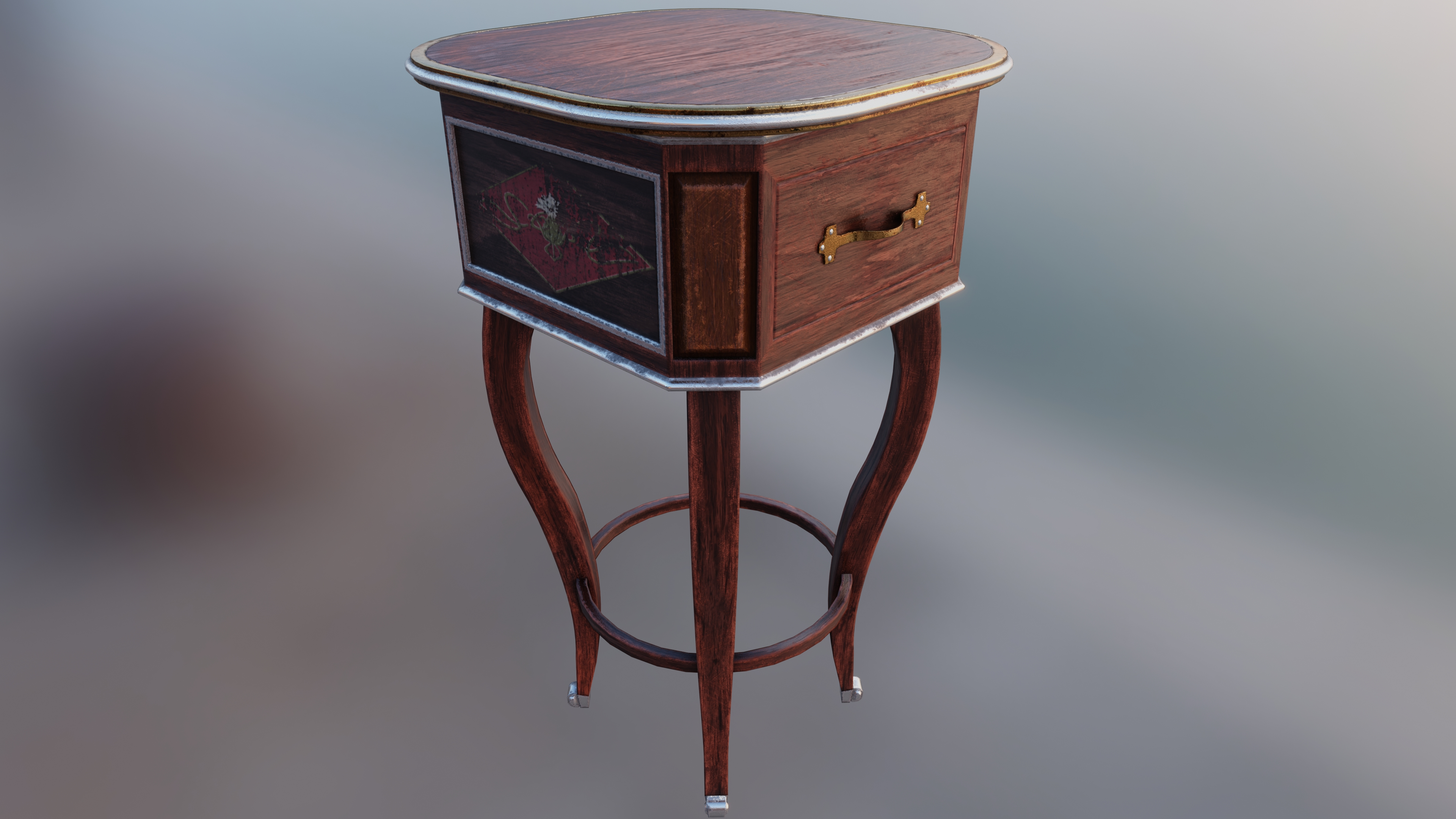 Stewarts Antique French Table preview image 1