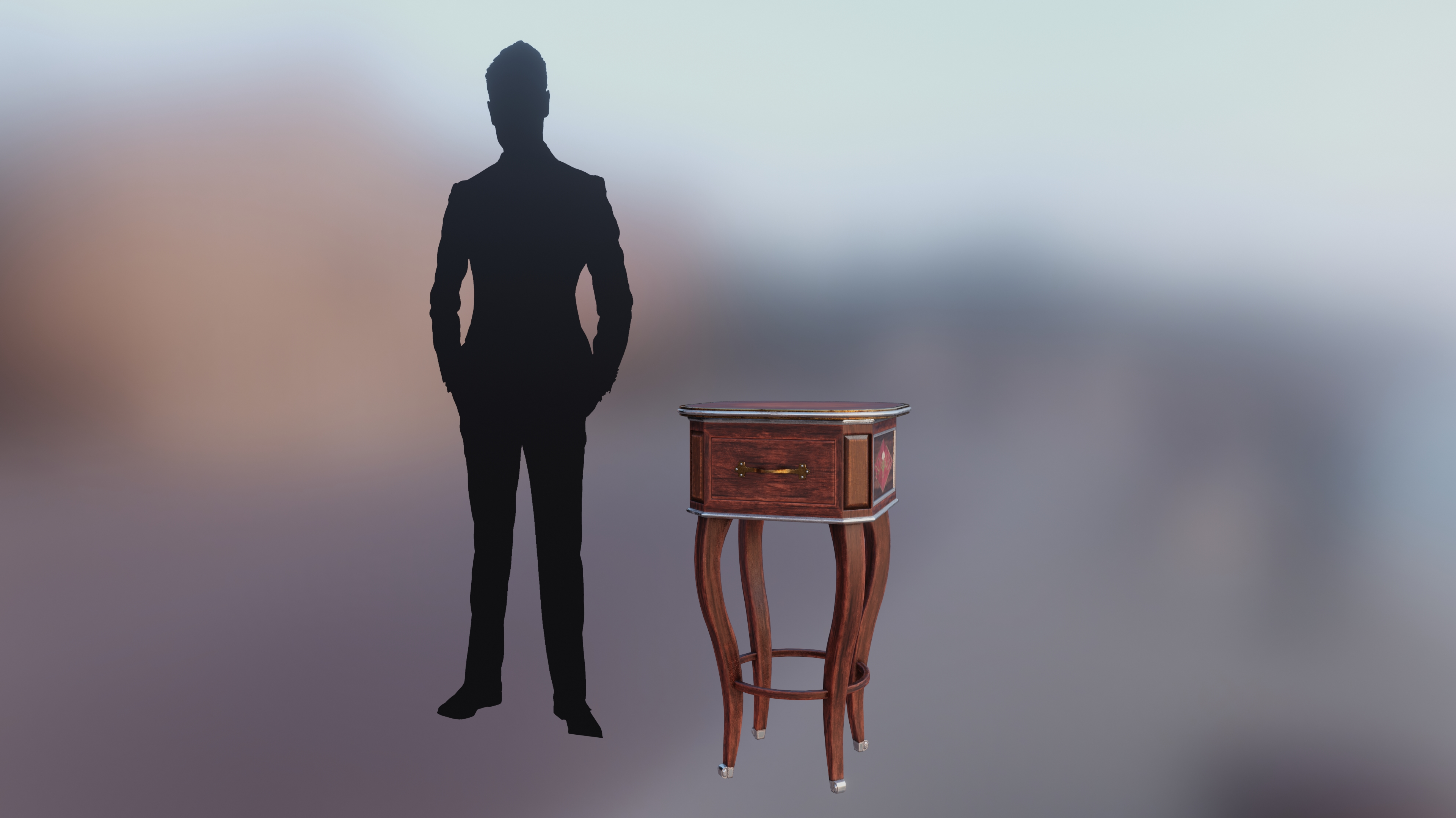 Stewarts Antique French Table preview image 7