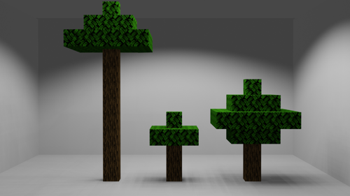 Minecraft Oak Tree preview image