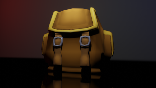 Low Poly BackPack preview image