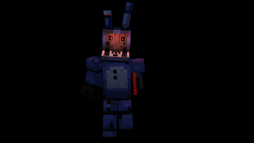 ZAMination Withered Bonnie (BLENDER 2.8 - Current ONLY) preview image