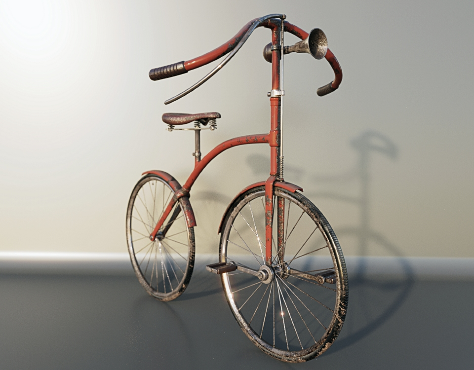 Old Bicycle preview image 1