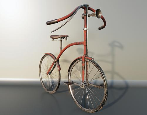 Old Bicycle preview image