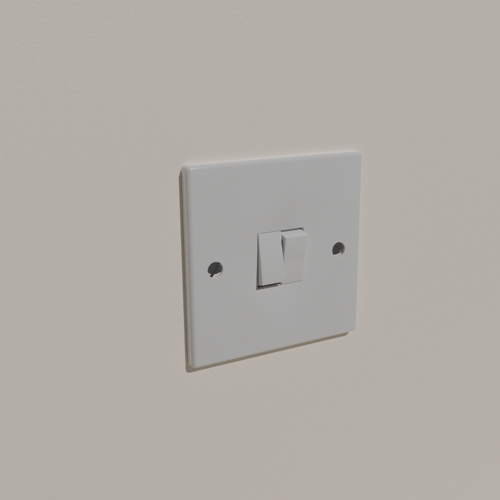 UK Double Light Switch preview image