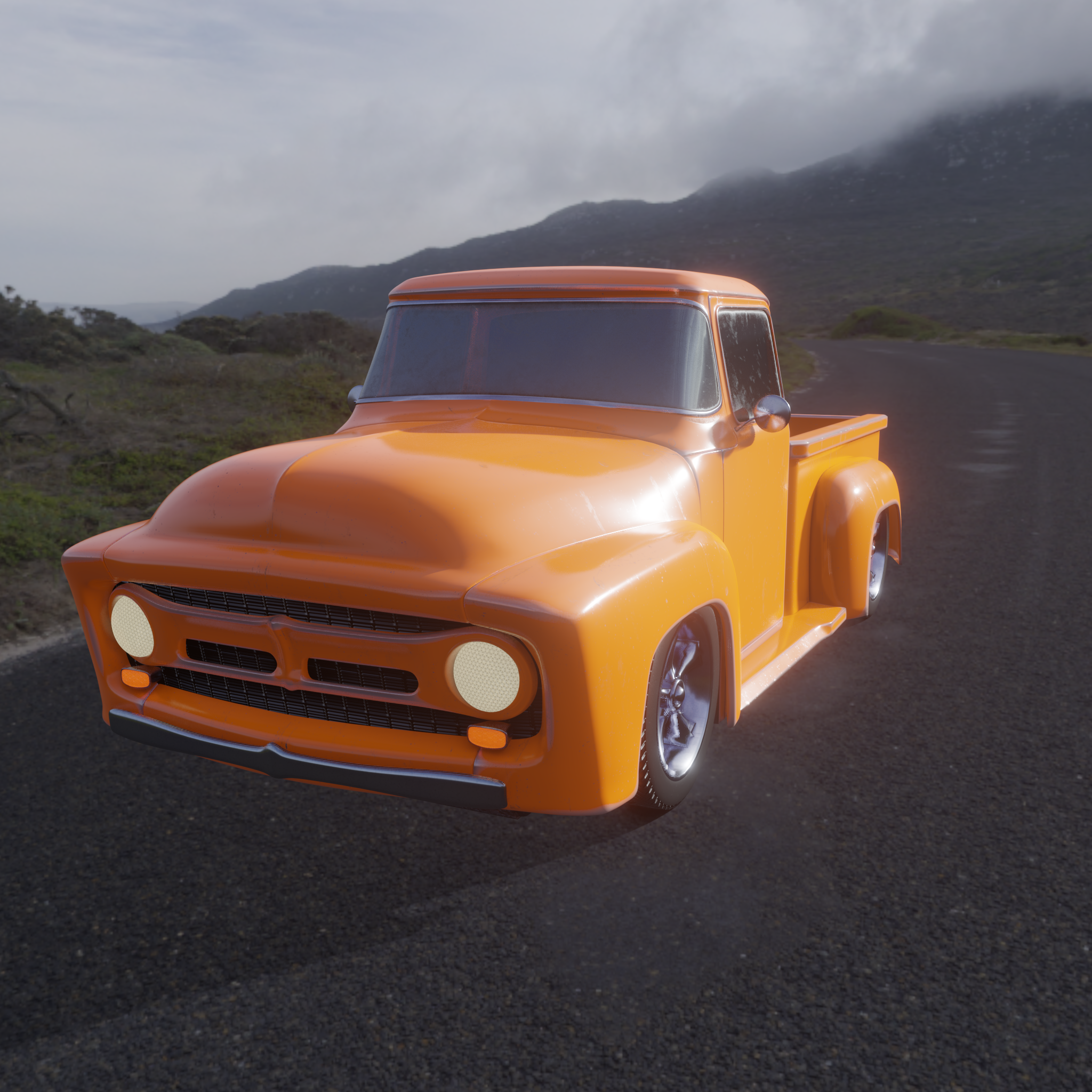 1950's F100 Pickup Truck preview image 1