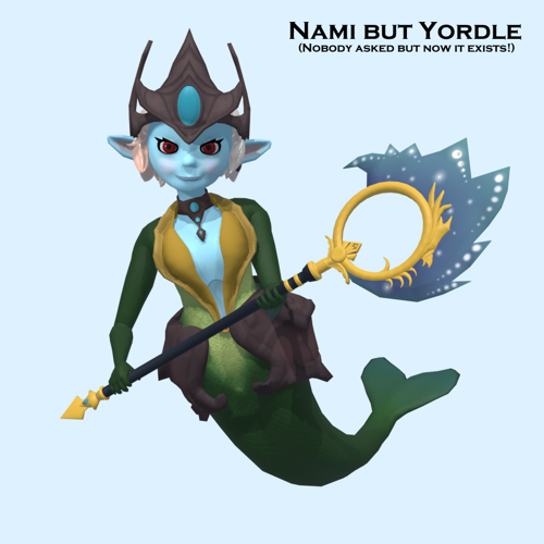 Nami but Yordle - LoL [V.1] preview image