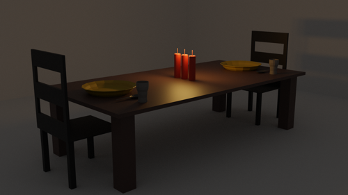 Simple Dining Scene preview image