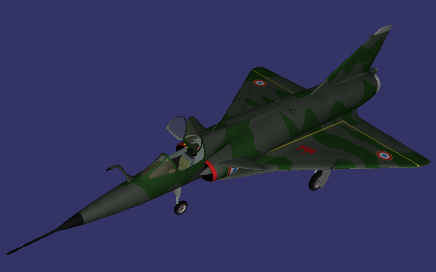 Dassault Mirage III NG preview image 1