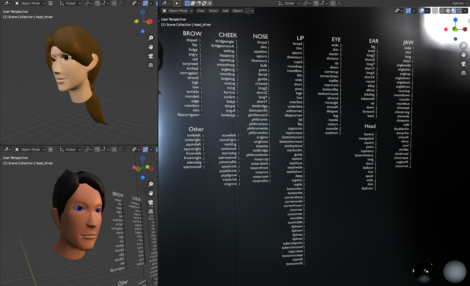Low poly head generator preview image 1