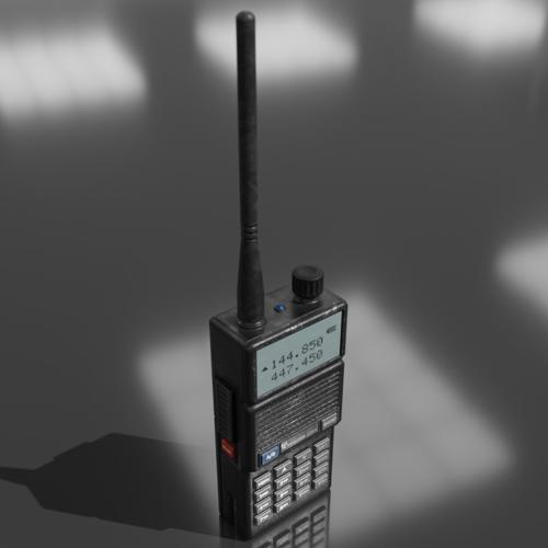 Generic HAM mobile radio preview image