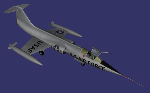 Lockheed F-104 Starfighter preview image