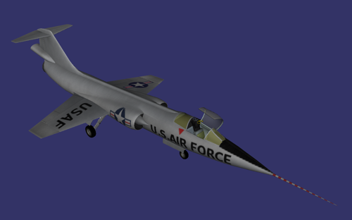Lockheed NF-104A preview image
