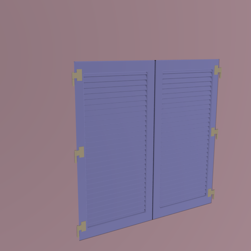 hinged shutters preview image