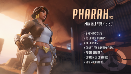 Pharah from Overwatch v3.5 preview image