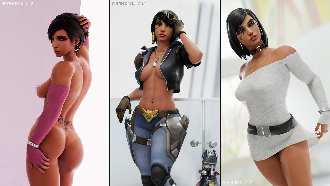 Pharah from Overwatch v3.7 preview image 4