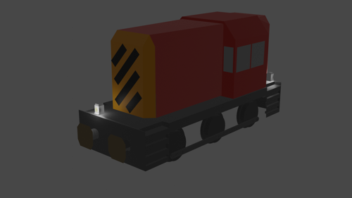 classic diesel locomotive preview image