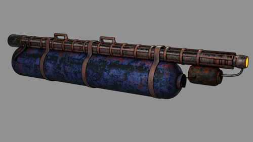 Rusty flamethrower preview image