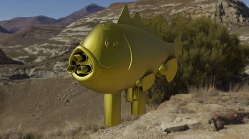Rocket Launcher Fish preview image
