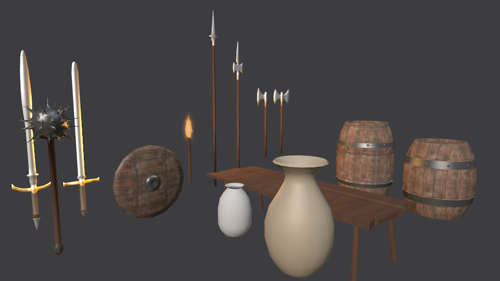 Medieval Game Assets preview image