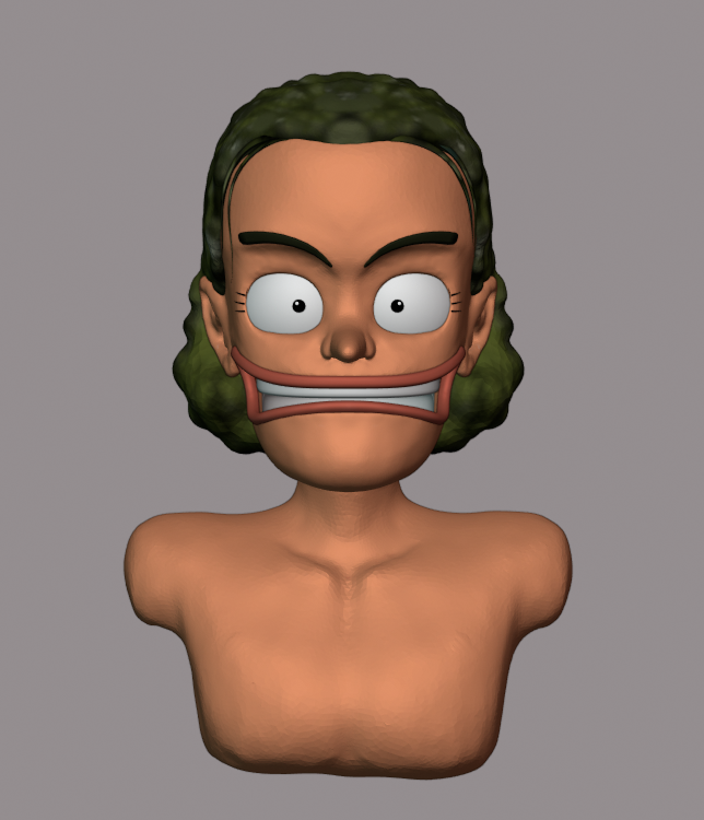 Sculpting Usopp preview image 2