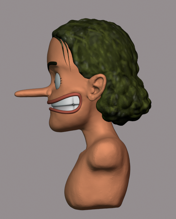 Sculpting Usopp preview image 3