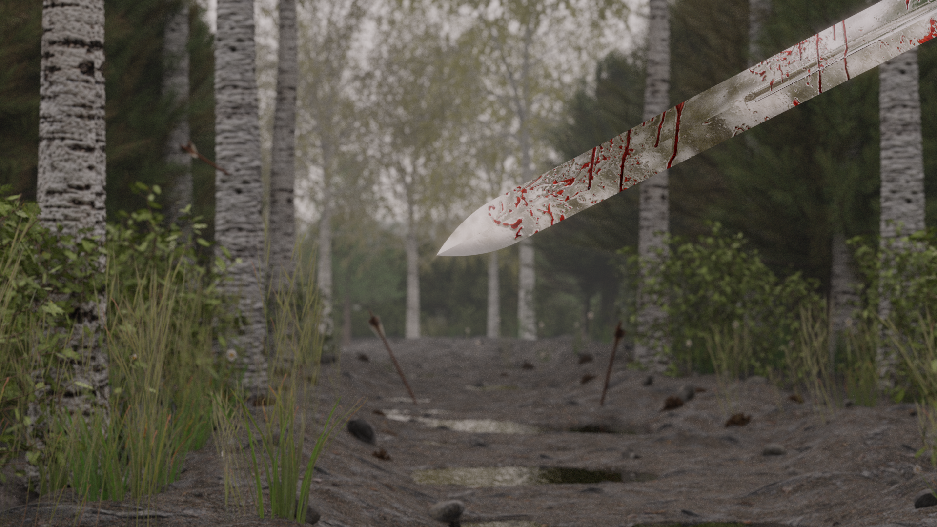 Sword Forest Scene preview image 1