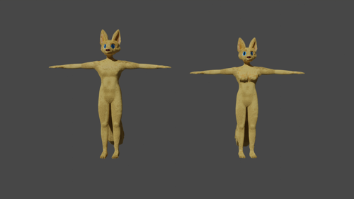 Furry character build attempt preview image