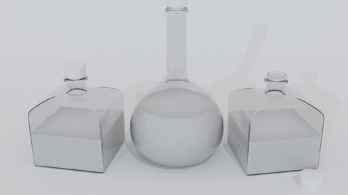 Stylized Potion Bottles preview image