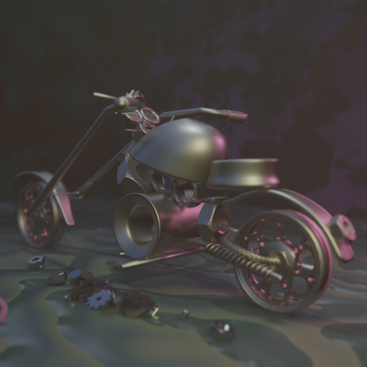 Mechanical Bike preview image 4