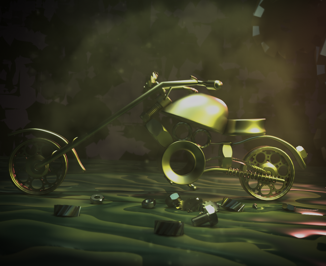 Mechanical Bike preview image 3