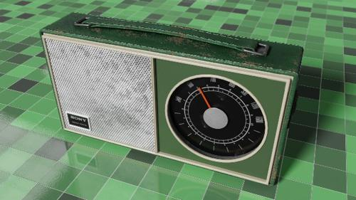 Vintage AM Radio Sony SR-22 preview image